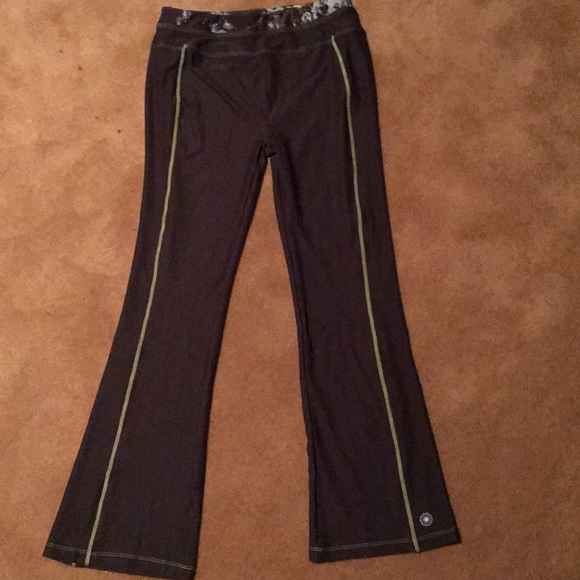b714458f2e0cc fullbeauty Pants - Fullbeauty yoga pants green